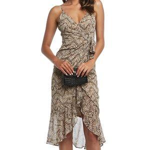 BRAND NEW Bardot print midi dress